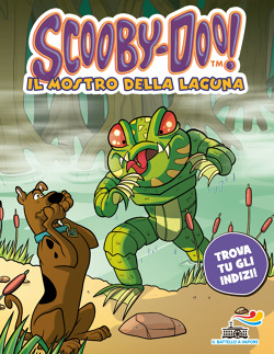 Il mostro della laguna di scooby doo libri edizioni piemme